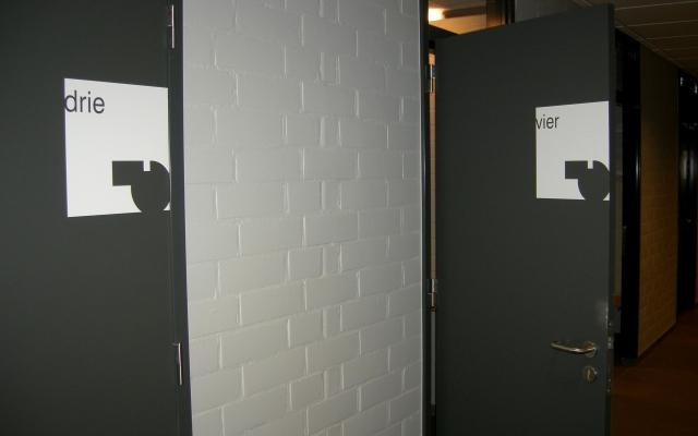 Deuren kleedkamers