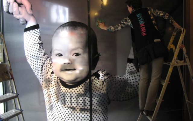 Transparante folie in kinderopvang