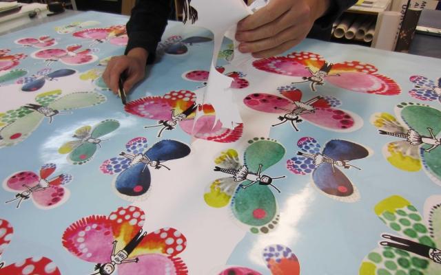 Stickers naar vorm