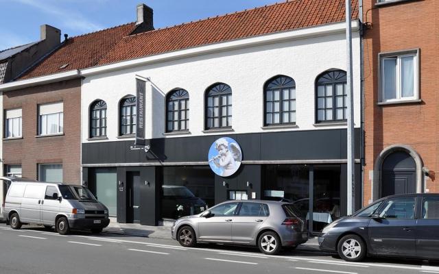 Restaurant Hemelhof rond paneel