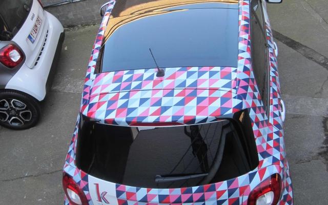 Car Wrap- Pinkandblue - K in Kortrijk
