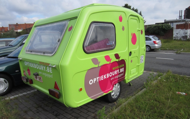 Aanhangwagen Optiek Boury