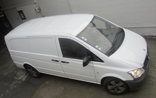 Vito metallic naar witte wrapping
