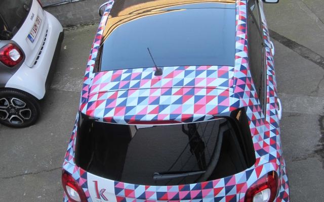 Car Wrap - K in Kortrijk