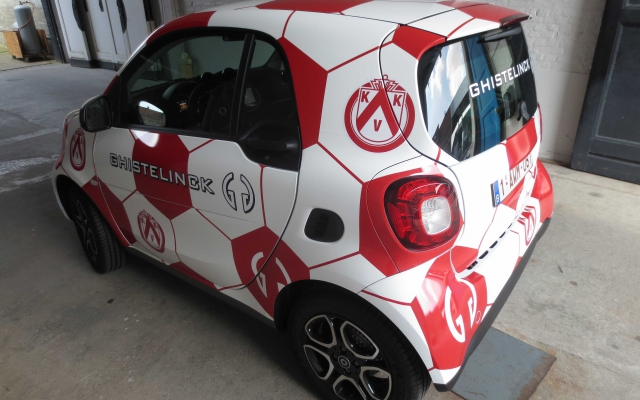 Car Wrap - Smart KV Kortrijk