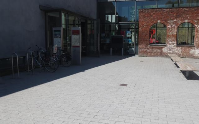 Vloersticker Stad Kortrijk