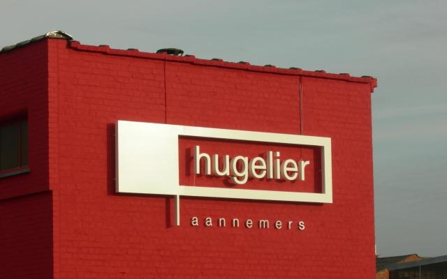 Reliëfletters Hugelier
