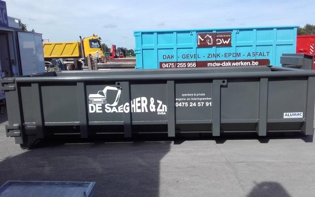 De Saegher container