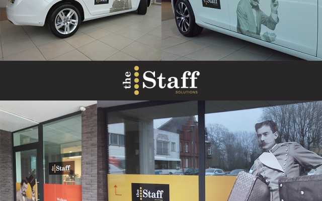 the staff solutions - full project ( gebouw & voertuigen )